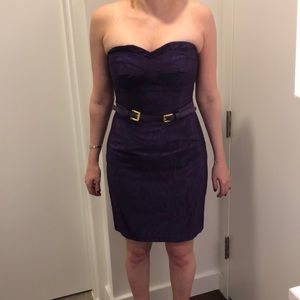 Strapless Ali Ro Cocktail Dress with Pockets